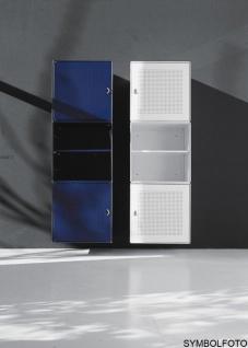 Graepel High Tech Tür mit Griff aus gelochtem, lackiertem Stahl - Vorschau 1