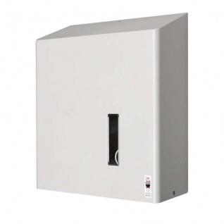 Dan Dryer Toilettenpapierhalter erhältlich in 2 Ausführungen für 4 Standardrollen