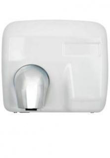 Klassik Händetrockner aus Weißmetall mit 2400W - Robustes Design