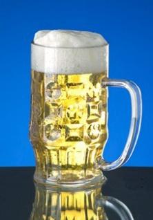 Geschenk-Set: 6 Stk. Bierkrug 0, 3l aus Kunststoff + Karton - Vorschau 3