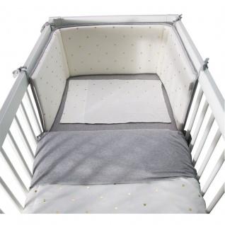 Childhome Bett Kopfschutz 35X170 Jersey Gold Dots