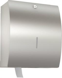 Franke WC-Großrollenhalter STRX670 Jumbo aus Chromnickelstahl zur Wandmontage