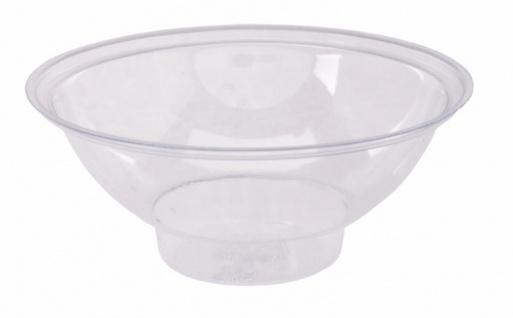 Tropfschale aus weißem transparenten Kunststoff