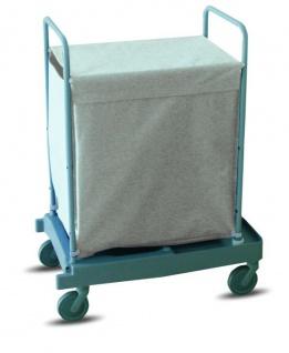 IPC Euromop Wäschewagen mit 200 Liter Kapazität - mit 4 Rollen und 2 Bremsen