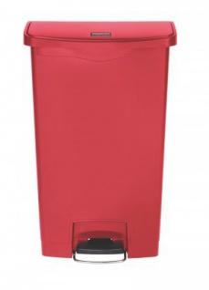 RUBBERMAID Slim Jim® Kunststoff-Tretabfallbehälter mit Pedal an der Breitseite 68 L - Vorschau 4
