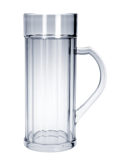 SET 6 Stück Doppler Krug 2 liter Kunststoff Spülmaschinen geeignet lebensmittelecht - Vorschau 1