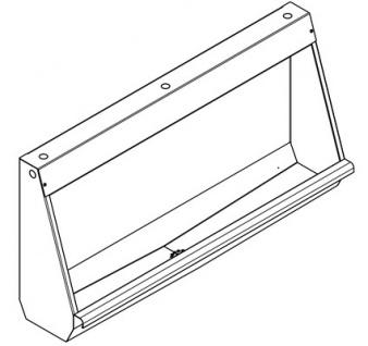Franke Reihenurinal CMPX551 zur Wandmontage aus Chromnickelstahl - Vorschau 2