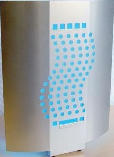 Insektenvernichter Glue-pad Design 20 Watt aus Alu und total hygienisch