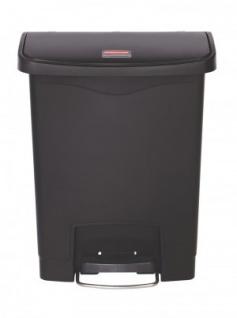 RUBBERMAID Kunststoff-Tretabfallbehälter mit Pedal an der Breitseite 30 L - Vorschau 5