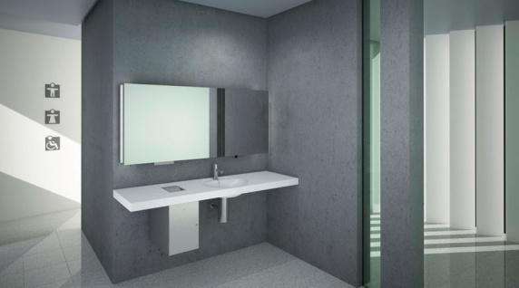 Wagner-EWAR Hygienebeutelspender WP256 Edelstahl für Unterputzmontage - Vorschau 3