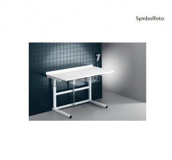Pressalit freistehender motorisierter Wickeltisch 800 x 1800 mm - max. 150 kg