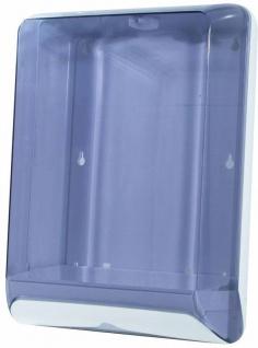 Marplast Papierhandtuch Spender MP 831 aus Kunststoff zur Wandmontage in Transparent
