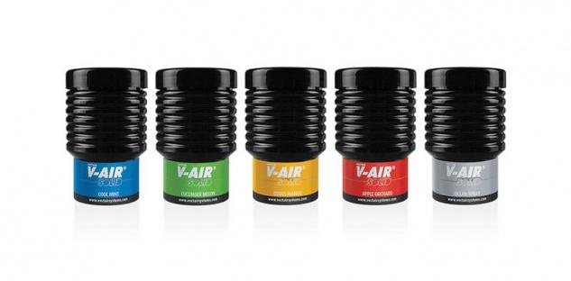 V-AIR® SOLID Multiphasige Nachfüllkartusche mit Sub-Mikrometer-Dufttechnologie Aerosolfrei