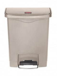 RUBBERMAID Kunststoff-Tretabfallbehälter mit Pedal an der Breitseite 30 L - Vorschau 1