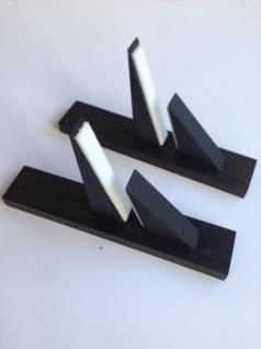 Elbo Therm Holzstandfüße 2 Stück aus Naturholz in weiß oder schwarz - Vorschau 5
