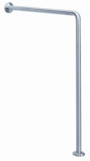MediQo-line Haltegriff Wand-Boden 90° Bodeneinbau