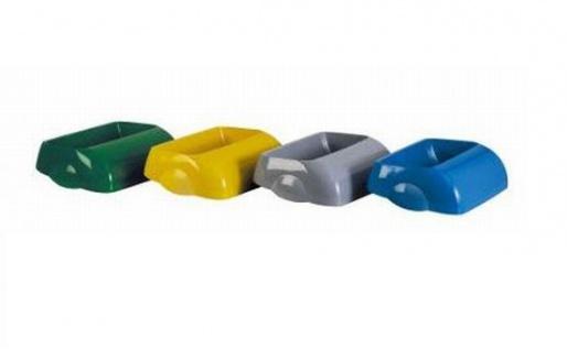 Marplast 4x Deckel Einwurf-Öffnung Kunststoff für Abfalleimer MP742 - Multicolor