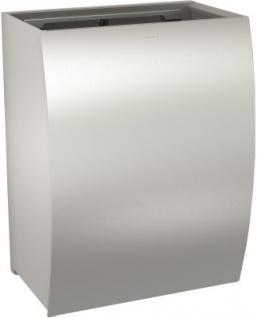 Franke Abfallbehälter Stratos STRX607 aus Chromnickelstahl zur Aufputzmontage