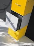 Graepel High Tech Schublade aus lackiertem Stahl für QBO Würfel
