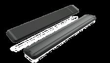 MO-EL Hot Top moderner Dunkelstrahler 9824D mit 2400W mit Dimmer + Fernbedienung
