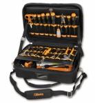 Beta Werkzeugsortimente 64 teilig für Elektroniker und Elektrotechniker inkl Werkzeugkoffer