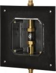 Franke A3000 open elektronisch zeitgesteuerte Duscharmatur DN 15 für Wandeinbau