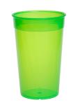 20er Set Kunststoff Mehrweg-Becher grün 0, 2l leicht und vielseitig