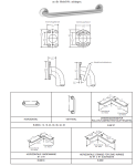 Bobrick B-68137 / .99 horizontale gewinkelte Griffstange aus mattem Edelstahl
