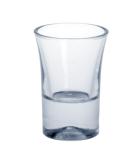Schnapsglas 2cl SAN glasklar aus Kunststoff wiederverwendbar