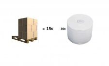 Halbpalette - 15x Karton - Passend für Hagleitner Toilettenpapierspender