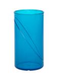 Wasserglas 0, 25l SAN blau aus Kunststoff wiederverwendbar