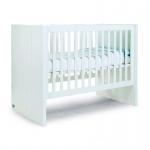 Childhome Quadro White Bett 60X120Cm+Latten+Lattenrost 90X200Cm
