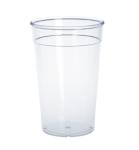 20er Set Kunststoff Mehrweg-Becher glasklar 0, 4l PC wiederverwendbar stapelbar