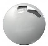 Rossignol Disco Wandascher 1, 5 Liter aus pulverbeschichtetem Stahl mit UV-Absorber