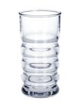 SET 6 Stück Samba Queen Trink Becher 0, 2l SAN aus Kunststoff glasklar