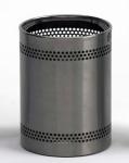 G-Line Pro hochwertiger Scopinox Design Papierkorb aus Edelstahl 1.4016 gebürstet