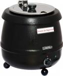 Casselin elektrischer Suppenkocher 9 Liter - aus Edelstahl mit Thermobeschichtung