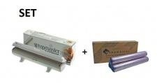 SET Effizienter Wrapmaster-Spender 1000 und Frischhaltefolie 1000 aus Polyethylen