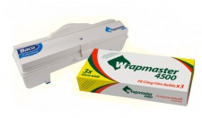 SET effizienter Wrapmaster Spender WM4500 und Frischhaltefolie LMF 4500