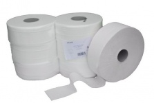 Palette (49 Packungen je 6 Stück) Toilettenpapier - 2-lagig - Zellstoff hoch weiß