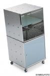 Graepel High Tech hochwertige Glastür für die QBO base und base x Würfel