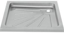 Franke Duschtasse BS400 aus Chromnickelstahl zur Boden-Einbaumontage