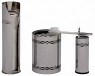 Graepel G-Line Pro hochwertige Scopinox WC-Bürste aus poliertem Edelstahl 1.4016