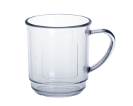 20er Set Glühweinbecher 0, 2L SAN glasklar aus Kunststoff Spülmaschinen geeignet