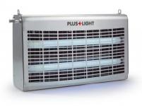 Insektenvernichter Pluslight mit leistungsstarken 60 Watt aus Edelstahl