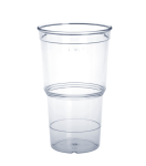 20er Set ECO Cup glasklar in 0, 25l aus Kunststoff