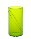 20 Stück Wasserglas 0, 25l SAN grün aus Kunststoff wiederverwendbar