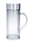 SET 6 Stück Doppler Krug 2 liter Kunststoff Spülmaschinen geeignet lebensmittelecht