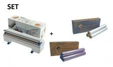 SET All in one Wrapmaster Spender 4500 und Frischhaltefolie sowie Alufolie 4500