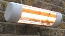 Heatlight Heizstrahler HLW10 mit Infrarottechnologie für den Außenbereich 1000W
